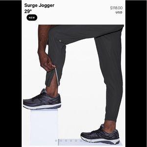 Lululemon Surge Jogger size large